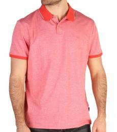 Calvin Klein Red Front Logo Polo
