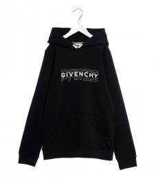Givenchy Little Boys Black Logo Hoodie