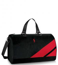 Ralph Lauren Black Holdall Large Duffle Bag