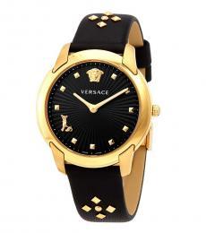 Versace Black Audrey Watch