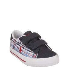 Ralph Lauren Boys White Multi Easton Sneakers