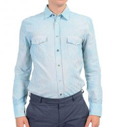 Sky Blue Long Sleeves Dress Shirt