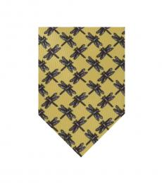 Yellow Dragonfly Classic Tie