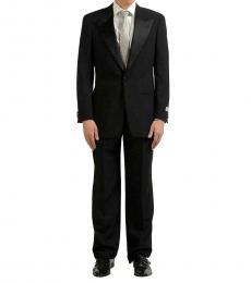 Black Notch Lapel Suit