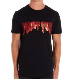 Black Red Logo T-Shirt