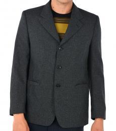 Marni Dark Grey Single Breasted Blazer