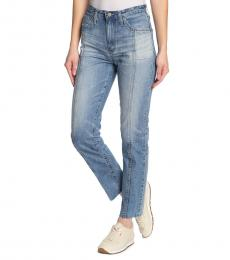 AG Adriano Goldschmied Eighteen Phoebe Raw Edge Hem Jeans