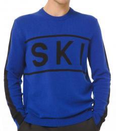 Michael Kors Black Nylon Ski Sweater