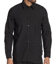 Black Jirou Button-Down Shirt