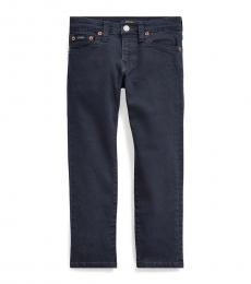 Ralph Lauren Boys Navy Sullivan Slim Stretch Jeans
