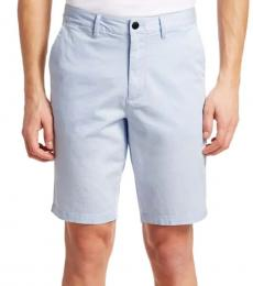Light Blue Satin Shorts