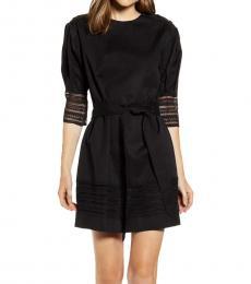 Black Georgina Dress