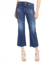 AG Adriano Goldschmied Denim Quinne High-Rise Flare Jeans