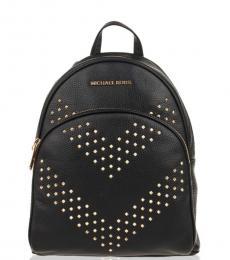 Michael Kors Black Abbey Medium Backpack