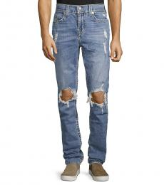 Light Blue Rocco Distressed Jeans