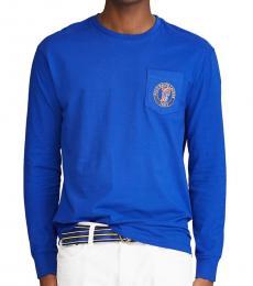Royal Blue Classic Fit Logo T-Shirt