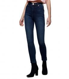 True Religion Blue Caia Ultra High Rise Jean