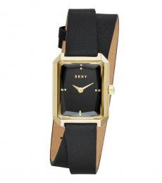 DKNY Black Cityspire Watch