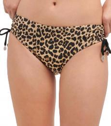 DKNY Black Side Ties Bikini Bottom