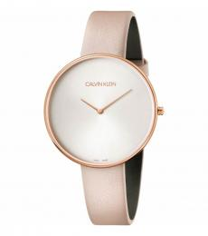Calvin Klein Pink Full Moon Watch