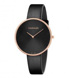 Calvin Klein Black Full Moon Watch