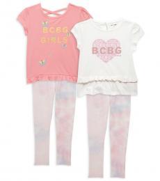 BCBGirls 3-Piece Top/Leggings Set (Little Girls)