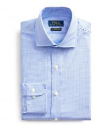 Ralph Lauren Agean Blue Slim Fit Shirt