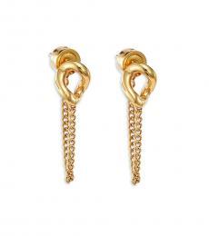 Michael Kors Gold Fashionable Earrings