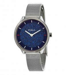 Furla Silver Modish Watch
