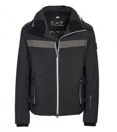 Emporio Armani Dark Grey Logo Jacket