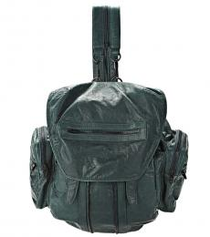 Alexander Wang Green Leather Large Backpack