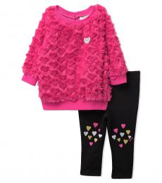 Juicy Couture 2 Piece Pullover/Leggings Set (Baby Girls)