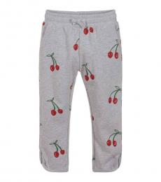 Stella McCartney Girls Grey Cherry Joggers