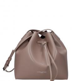 Lancaster Paris Turtledove Solid Medium Bucket Bag