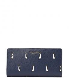 Kate Spade Navy Penguin Cameron Bifold Wallet