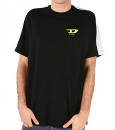 Diesel Black Printed T-Harus T-Shirt