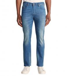 Diesel Blue Denim Buster Pantaloni Jeans