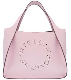 Stella McCartney Light Purple Logo Large Tote