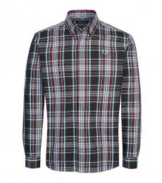 Fred Perry Multicolor Check Logo Shirt