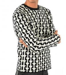 Black Merino Wool Jumper