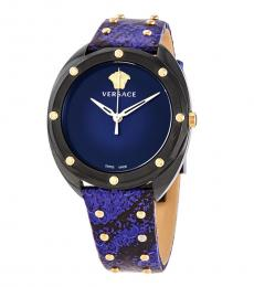 Versace Blue Shadov Watch