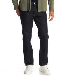 Lucky Brand Navy Blue Straight Leg Jeans