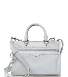 Rebecca Minkoff Ice Grey Bedford Small Satchel