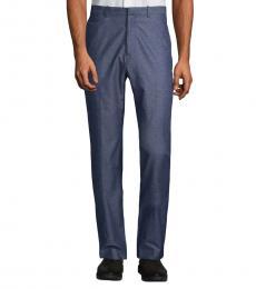 Theory Dark Blue Jake Heathered Pants