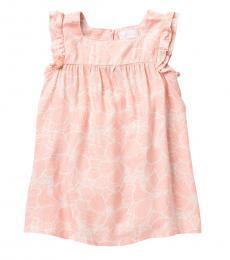 BCBGirls Little Girls Rose Petal Floral Twill Sundress