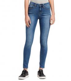DKNY Cornelia Wash High-Rise Skinny Ankle Jean