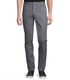 Michael Kors Grey Slim-Fit Chino Pants
