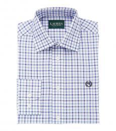 Ralph Lauren Boys Navy/Blue Check Shirt