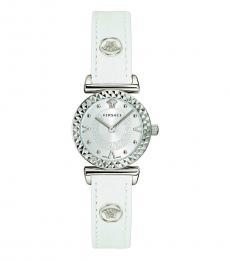 Versace White Logo Modish Watch