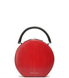 Rebecca Minkoff Red Textured Mini Satchel